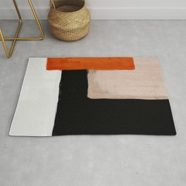 abstract minimal 14 Rug