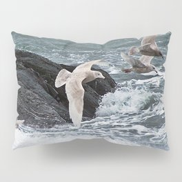 Gulls shop for Dinner Pillow Sham