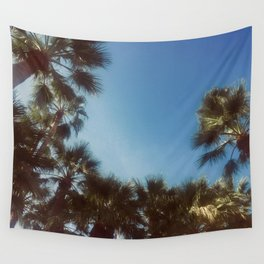 Palm Tree Photography Wall Tapestry