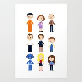 The Bluth Family Art Print