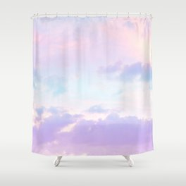 Unicorn Pastel Clouds #1 #decor #art #society6 Shower Curtain