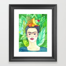 Chiquita Frida Framed Art Print