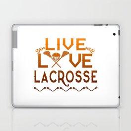 LIVE - LOVE - LACROSSE Laptop & iPad Skin