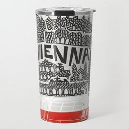 Vienna City Print Travel Mug