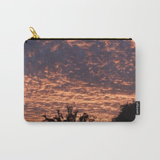 Atmospherics Number 2: Sunset from Costco San Dimas Carry-All Pouch