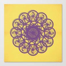 Cycle Circle Canvas Print