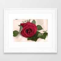 romance Framed Art Prints featuring Romance by Ellie Rose Flynn