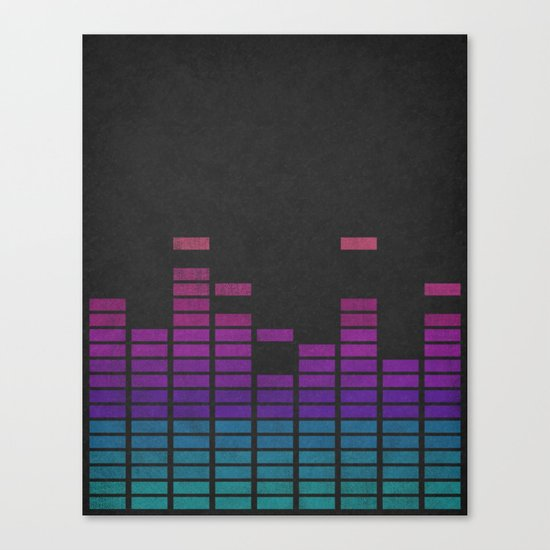 Equalize Canvas Print