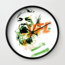 Conor McGregor UFC 194 collectable limited edition print Wall Clock