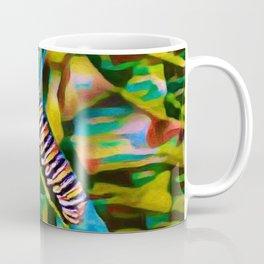 Caterpillar Fiesta | Oil Painting Coffee Mug