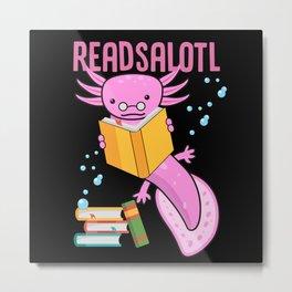 Axolotl, Axolotl snaxalotl, Axolotls Metal Print