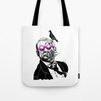 political Tote Bags featuring political zombie theme by Krzysztof Kaluszka