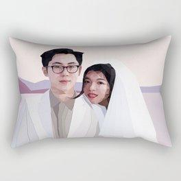 Mr & Mrs. Xiao Rectangular Pillow