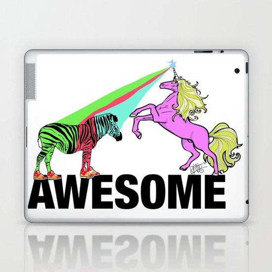 Awesome  Laptop & iPad Skin