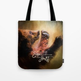 Capturing The Sun Tote Bag