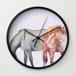 Sabino and Grulla Wall Clock