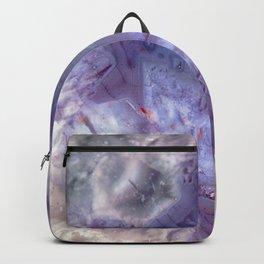 purple agate 0743 Backpack