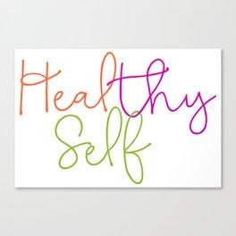 Heal thy self Canvas Print