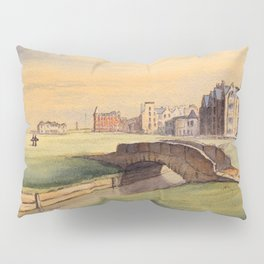 St Andrews Golf Course Scotland 18th Hole Pillow Sham