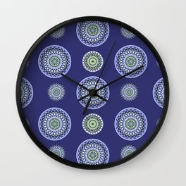AFE Mandala Pattern Wall Clock