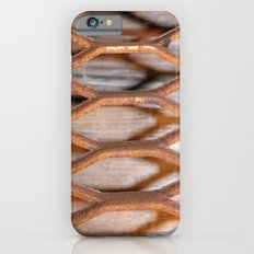 Rusted Steel Faded Wood Slim Case iPhone 6s