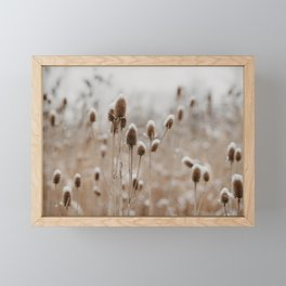 The Wintry Meadow Framed Mini Art Print