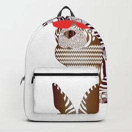 Bunny with Glasses Backpack