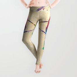 Rhythmic Gymnastics Print Sports Print Watercolor Print Leggings