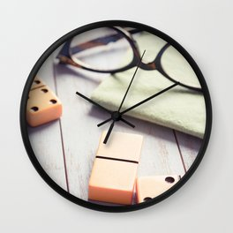 A Break in the Game Wall Clock