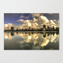 East Side Relections  Canvas Print