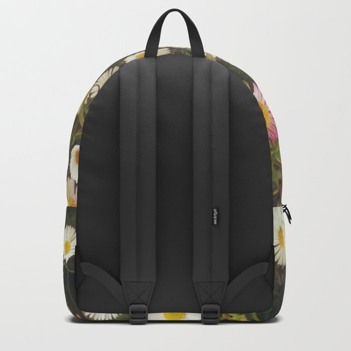 Wall of Daisies Backpack