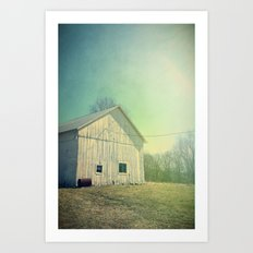 Country Morning Art Print