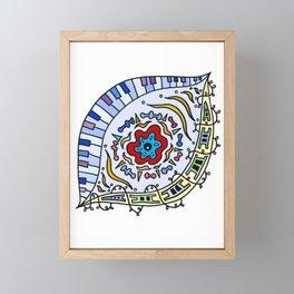 Pop Eye (Red) Framed Mini Art Print