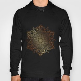 Mandala - Copper Hoody