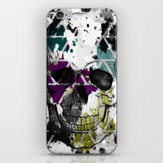 Abstract Skull iPhone & iPod Skin