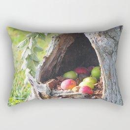 Hidden Apples Rectangular Pillow