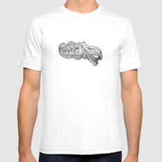 Cuttlefish SMALL Mens Fitted Tee White