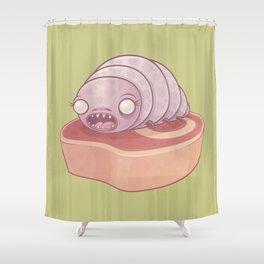 Maggie the Maggot Shower Curtain
