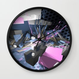 DAIMwartend Wall Clock