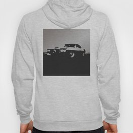 Pontiac Firebird, Gray on Black Hoody