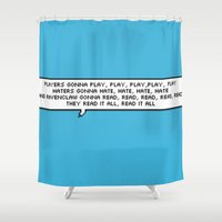 read Shower Curtains featuring ravenclaw gonna read read read by Talk Nerdy To Me?