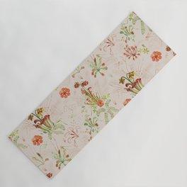 Carnivorous Floral Yoga Mat