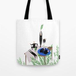 Human still life v2 Tote Bag