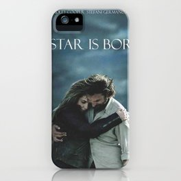 A-Star-Is-Born iPhone Case