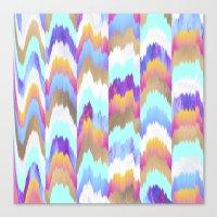 glitch Canvas Prints featuring Glitch by Elisabeth Fredriksson