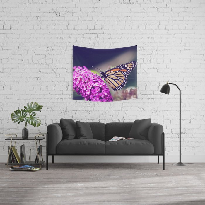 Butterfly Dreams Wall Tapestry