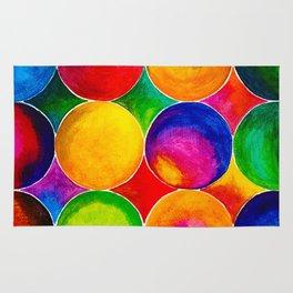 Geometric Brights #2 Rug
