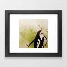 The Husband Eater (painting) Framed Art Print