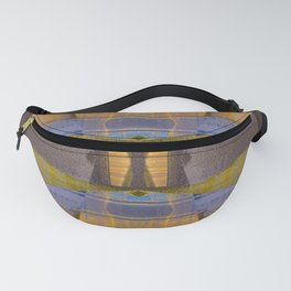 Vintage Earth Meditation Mandala Fanny Pack