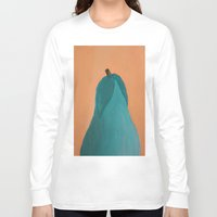 pear Long Sleeve T-shirts featuring Pear by seekmynebula